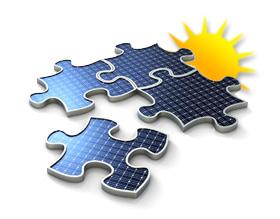 große Photovoltaikanlage bzw. Solaranlage ab 30 kW bis 100 kW